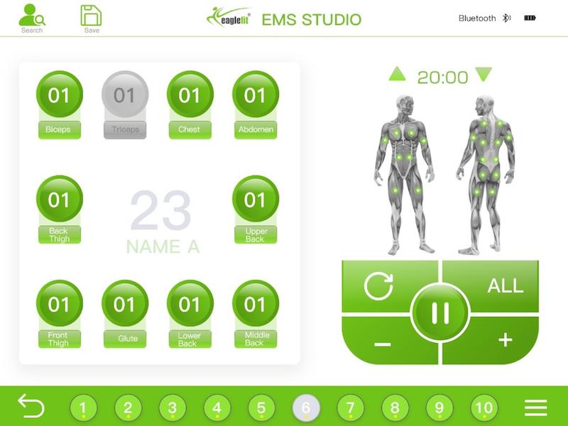 eaglefit STUDIO EMS App