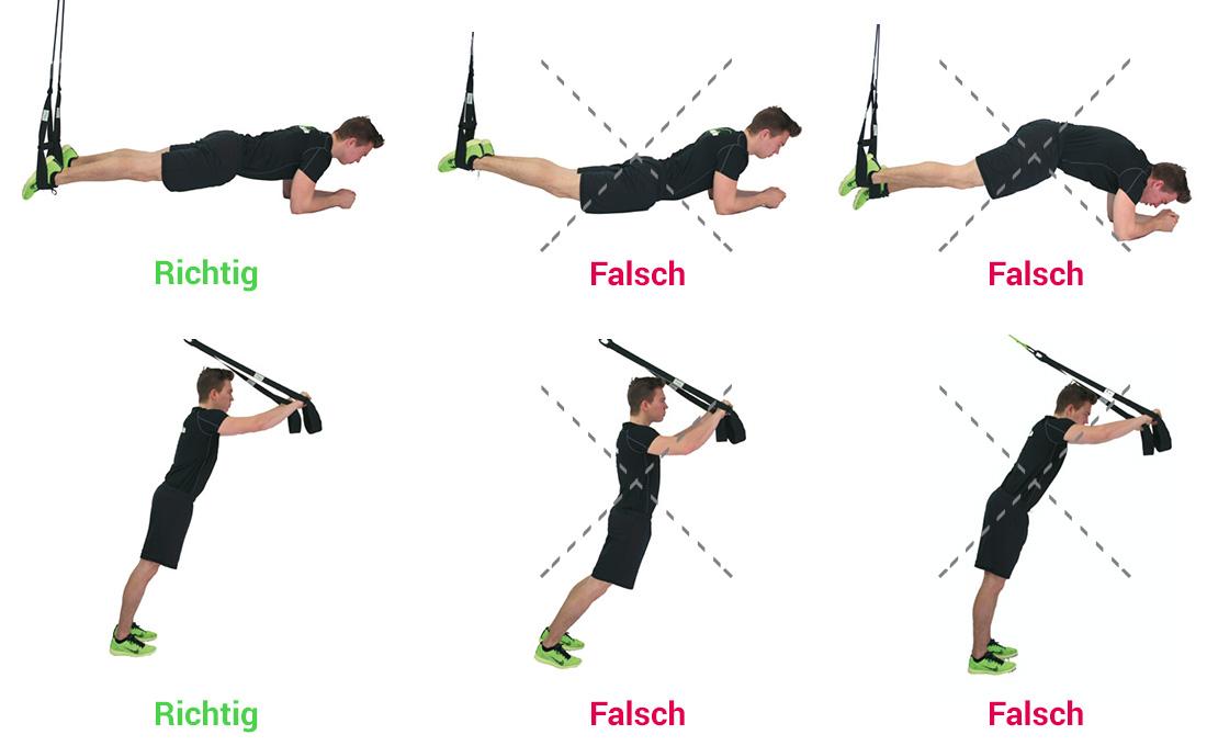 Proper Sling Training Posture